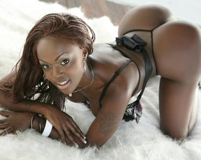 Naked ebony girls