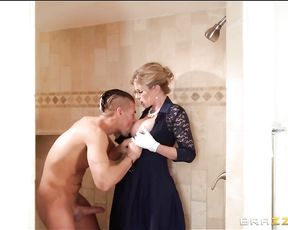 His new stepmom's a total stickler for manners but she's also hot as fuck