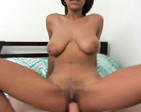 Fucking my hot girlfriend after filming her walking nude out of the bathroom