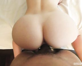 Banging my smoking hot stepsister after spying on her naked in the bathroom