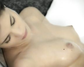 Beautiful girl masturbating in the shower will make your cock hard fast