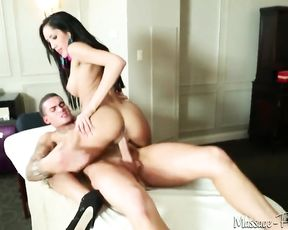 Crazy whole wants aggressive sex and riding two cocks make her slutty