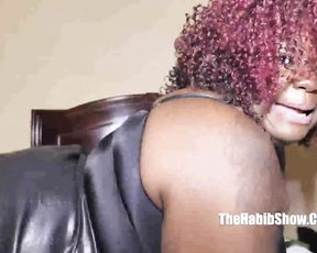 Ebony fat girl bails on morality to please black man and agrees for naked sex