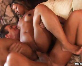 Muscular stallion assfucks naked black mistress in amazing positions
