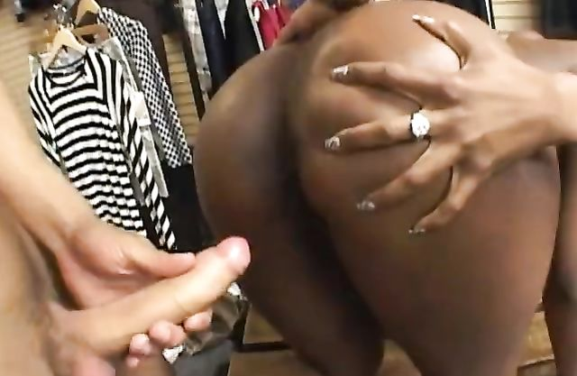 Naked crusher drills black girl's vagina in front of her friend