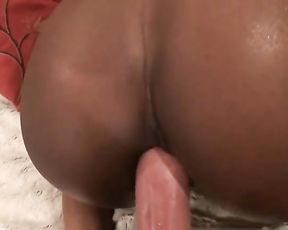 White naked cock drills black pussy and gives girl a lot of pleasure