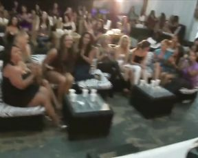 Horny girls don't lose the opportunity to suck cock of naked stripper