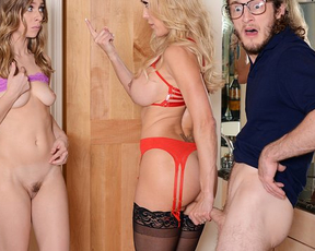 Slutty nature prevails over morality and buck naked girls get it on with friend