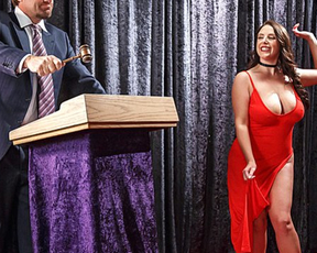 Businessmen pay for naked pornstar who obediently executes every command