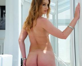 Man demonstrated naked redhead in practice what is pleasure of having sex