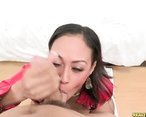 Sexy babe with big tits and juicy ass loves getting pounded hard by a big cock
