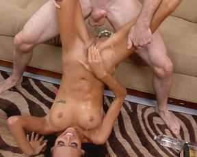 Hardcore fucking, squirting orgasm and the hottest babe ever