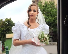 Sexy bride in distress makes a revenge sex tape for her loser fiancé