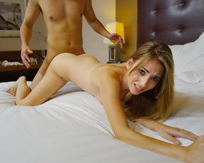 Hardcore fucking for this amateur girl that wants to do porn