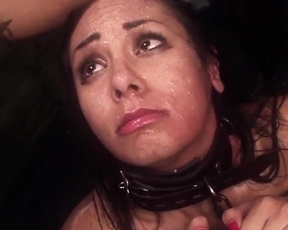Naked Latina wants man and finally he takes her to BDSM cellar and fucks
