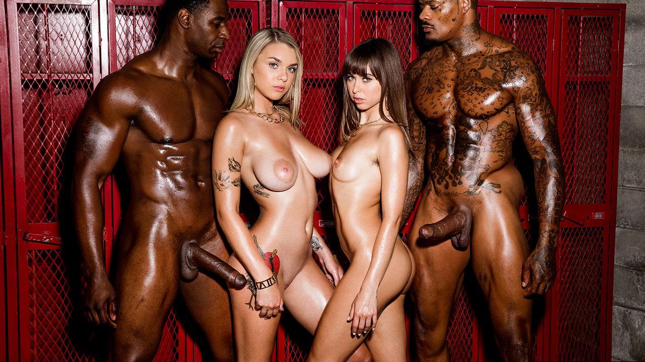 Black Guys One White Girl