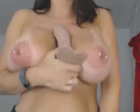 Young woman uses dildo to fuck naked pussy in exchange for tips in webcam show
