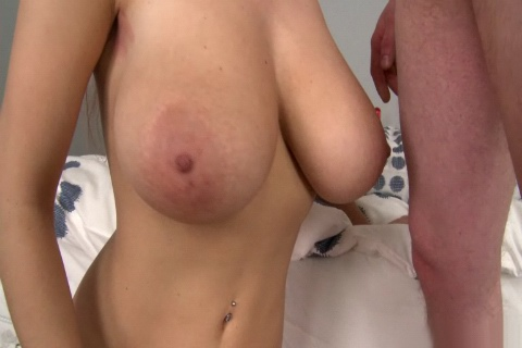 Bouncing Big Natural Tits