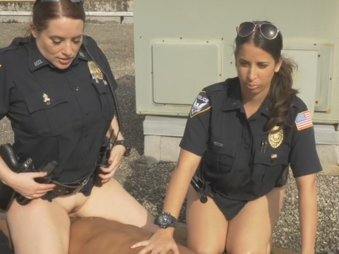 Naked in uniform