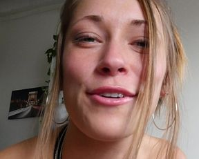 Amateur girlfriend filmed when taking the dick in a hot POV manner