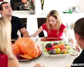 Wife cheats with hubby's best friend during breakfast at her house
