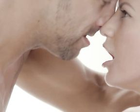 Stunning naked woman and her lover give each other incredible oral job