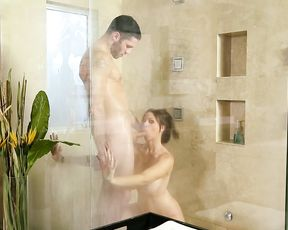This mature bitch wants and gets some hardcore fucking in the shower