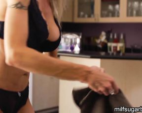 Shower Sex With Hot Busty Young Mom Ends With A Facial and she loves it