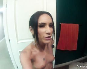 Big booty amateur tapes in the shower before getting laid in hardcore